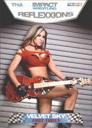 2012 TNA Impact Wrestling Reflexxions Trading Cards (Tristar) Velvet Sky 75