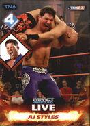 2013 TNA Impact Wrestling Live Trading Cards (Tristar) AJ Styles 30