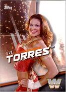 2016 WWE Divas Revolution Wrestling (Topps) Eve Torres 12