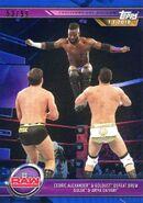 2019 WWE Road to WrestleMania Trading Cards (Topps) Cedrix Alexander & Goldust 46