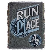AJ Styles Run The Place Throw Blanket