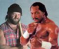 Big Josh and Ron Simmons