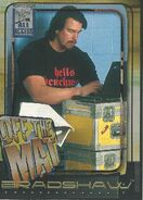 2002 WWF All Access (Fleer) Bradshaw 77