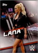2016 WWE Divas Revolution Wrestling (Topps) Lana 25