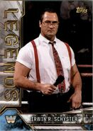 2017 Legends of WWE (Topps) Irwin R. Schyster 45