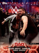 2018 WWE Road to Wrestlemania Trading Cards (Topps) Kevin Owens 14