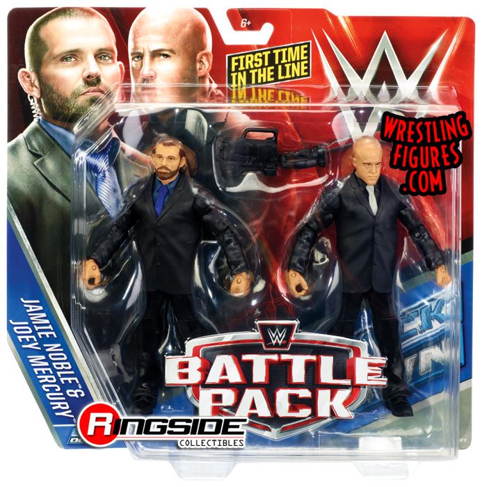 WWE ASCENSION FIGURES TAG TEAM BATTLE PACK 37 VIKTOR /& KONNOR FIRST IN LINE NXT
