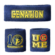 John Cena 10 Years Strong Sweatband Set