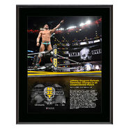 Johnny Gargano NXT TakeOver New Orleans 10 x 13 Photo Plaque