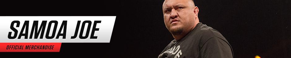Samoa Joe WWEShop Banner