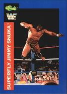 1991 WWF Classic Superstars Cards Superfly Jimmy Snuka 54