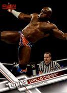 2017 WWE (Topps) Then, Now, Forever Apollo Crews 106