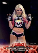 2018 WWE Road to Wrestlemania Trading Cards (Topps) Alexa Bliss 32