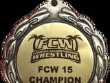 FCW Jack Brisco 15 Championship