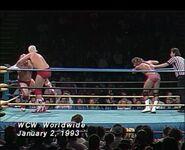January 9, 1993 WCW Saturday Night 11