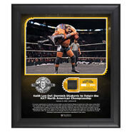 Keith Lee NXT TakeOver Portland 15 x 17 Limited Edition Plaque