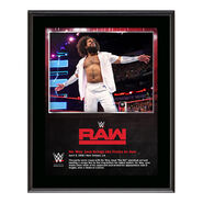 No Way Jose RAW New Orleans 10 x 13 Photo Plaque