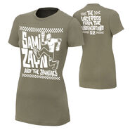 Sami Zayn Underdog From The Underground Women's Authentic T-Shirt