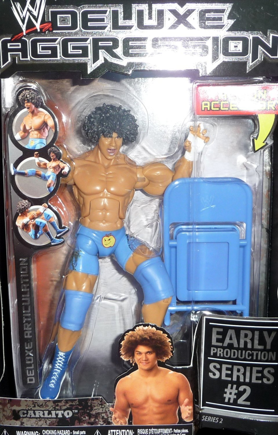 Carlito WWE Deluxe Ruthless Aggression Series WRESTLING FIGURE