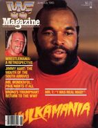 WWF Magazine June July 1985