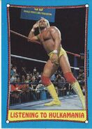 1987 WWF Wrestling Cards (Topps) Listening to Hulkamania 38
