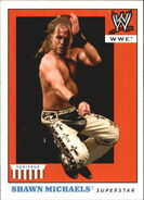2008 WWE Heritage IV Trading Cards (Topps) Shawn Michaels 45