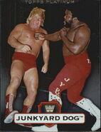 2010 WWE Platinum Trading Cards Junkyard Dog 119