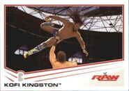 2013 WWE (Topps) Kofi Kingston 22