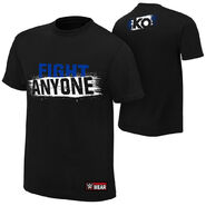 Kevin Owens Fight Anyone Authentic T-Shirt