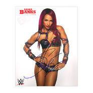 Sasha Banks Signed 8 x 10 Photo