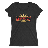 WrestleMania 35 Logo Women's Tri-Blend T-Shirt