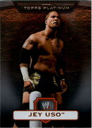 2010 WWE Platinum Trading Cards Jey Uso 25