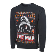 Becky Lynch The Man Ugly Holiday Sweatshirt
