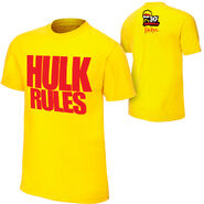 Hulk Hogan Hulk Rules 30th t shirt