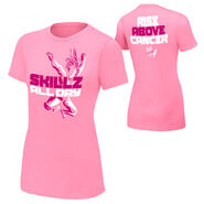 Kofi Kingston Rise Above Cancer Pink Women's T-Shirt