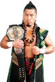 Shingo Takagi NEVER Champ