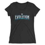WWE Evolution 2018 Logo Women's Tri-Blend T-Shirt