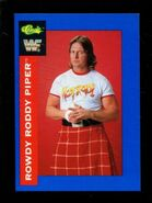1991 WWF Classic Superstars Cards Rowdy Roddy Piper 65