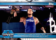 2019 WWE Road to WrestleMania Trading Cards (Topps) Baron Corbin 69