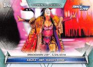 2019 WWE Women's Division (Topps) Asuka 72