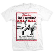Amy Dumas Faster, Amy! Kill! Kill! Shirt