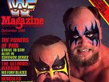 WWF Magazine - December 1988