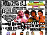 NJPW Presents CMLL Fantastica Mania 2011 - Day 2