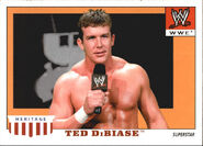 2008 WWE Heritage IV Trading Cards (Topps) Ted Dibiase Jr. 49