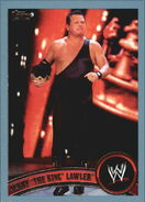 2011 WWE (Topps) Jerry Lawler (No.72)
