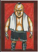 2013 TNA Impact Wrestling Live Trading Cards (Tristar) Samoa Joe 103
