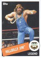 2015 WWE Heritage Wrestling Cards (Topps) Hillbilly Jim 23