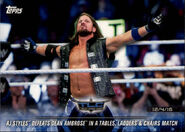 2018 WWE Road to Wrestlemania Trading Cards (Topps) AJ Styles 67