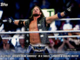 2018 WWE Road to WrestleMania Trading Cards (Topps) AJ Styles (No.67)