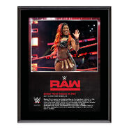 Ember Moon RAW New Orleans 10 x 13 Photo Plaque